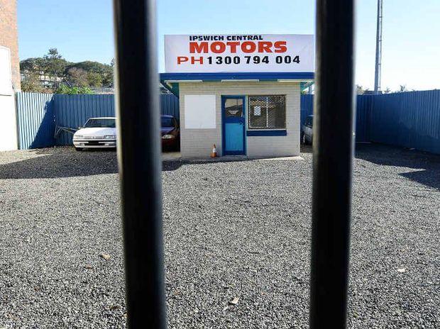 EMPTY YARD: Ipswich Central Motors on Brisbane St has shut up shop.