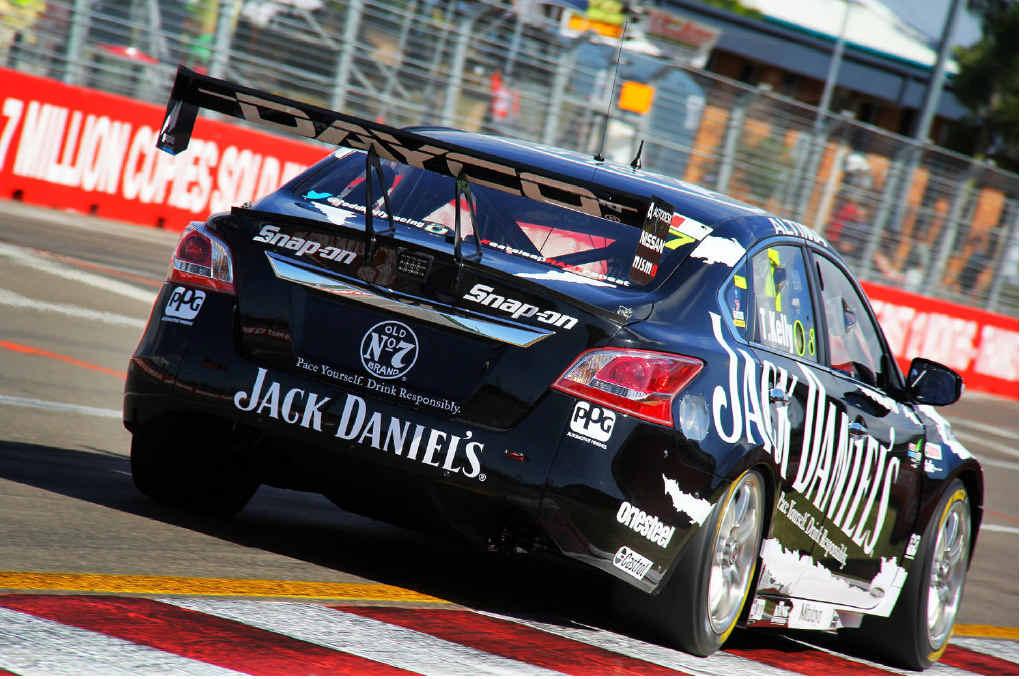 IPSWICH CHALLENGE: Todd Kelly in his Jack Daniel's Nissan Altima.