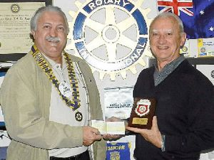 Rotary honours service to addiction treatment