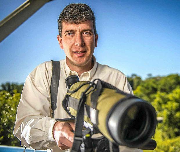 Professor Owen Nevin prepares for his trip to Kazakhstan to research snow leopards.