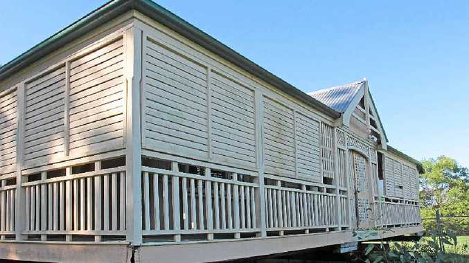 PIECE OF HISTORY: Tait Duke Cottage will be shifted from its temporary location on Eumundi-Noosa Road.