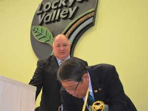 Lockyer Valley signs friendship agreement with Japan's Ageo