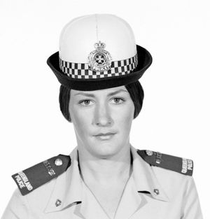 GROUND BREAKER: The first female detective in Ipswich was appointed in 1973, Noleyne Milne, became a Detective Constable in 1981.