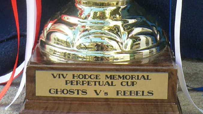 PRESTIGE: Viv Hodge Memorial Trophy. PHOTOS: CONTRIBUTED