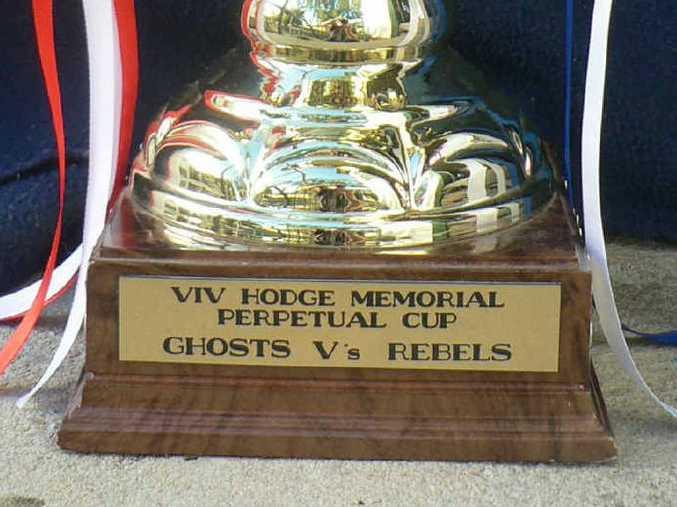 PRESTIGE: Viv Hodge Memorial Trophy. PHOTOS: CONTRIBUTED