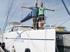 Mackay is awash with round-the-world sailors