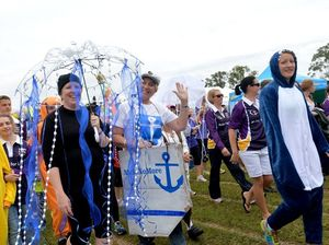 Gladstone locals lace up for Relay for Life event