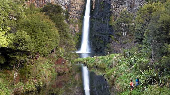 REFLECTIVE BEAUTY: Hunua Falls, Hunua Ranges, Auckland, New Zealand