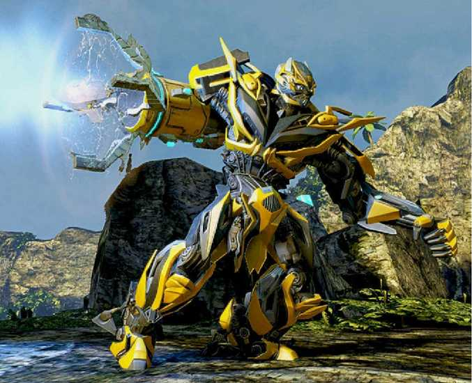 BAD LANDS: The Transformers: Rise Of The Dark Spark's environments are quite barren.