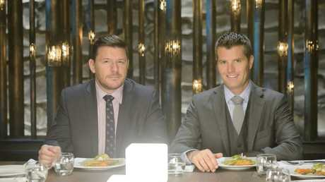 My Kitchen Rules judges Manu Fieldel and Pete Evans were spotted in Toowoomba filming the sixth season of the hit Network Seven program.