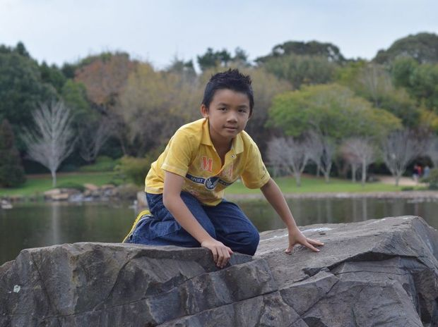 Eight-year-old Toowoomba student Anthony Ngo is studying maths and English at a high school level.