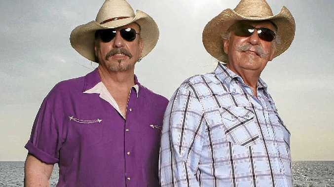 STILL ON THE ROAD: The Bellamy brothers, Howard and David are touring Australia this October.