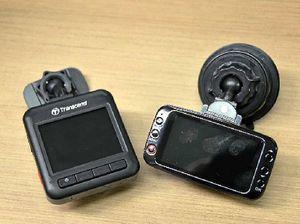 Transcend's new DrivePro 200 and Uniden's new iGo Cam 750.