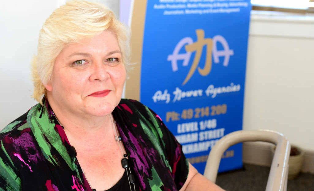 QUOTA SYSTEM: Tracey Sorensen from Adz Power Agencies in Rockhampton talks about the Work for the Dole program.