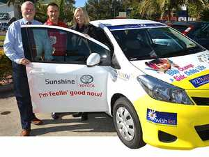 Wishlist gets new cars for midwifery home service