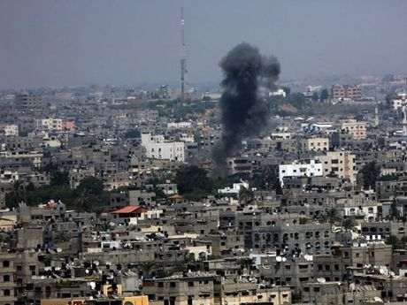 The latest attack follows an earlier bombardment that destroyed a playground in Gaza.