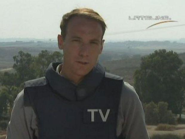 ABC correspondent Hayden Cooper, whose parents live in Wardell.