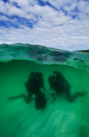 Former Yamba man and Maclean High Student Jesse Rhynard has been awarded the RAN Rosemary Rodwell Navy Photographic Award of Excellence with this photo.