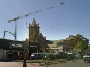 Tower crane a long term fixture of CBD skyline
