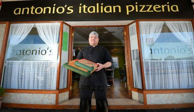 Antonio's Italian Pizzeria co owner and chef Anthony Mason. Photo Allan Reinikka / The Morning Bulletin