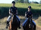 Sisters love their time in saddle
