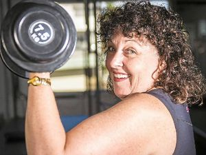 Sandra's back in action thanks to boot camp