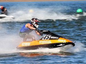 Atkinson Dam revs up for jet ski winter titles