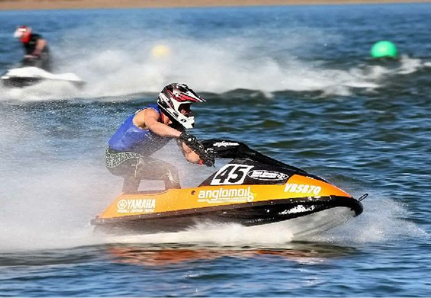 SPEED TO BURN: The QPWC held the first round of the winter titles at Atkinson Dam on the weekend.