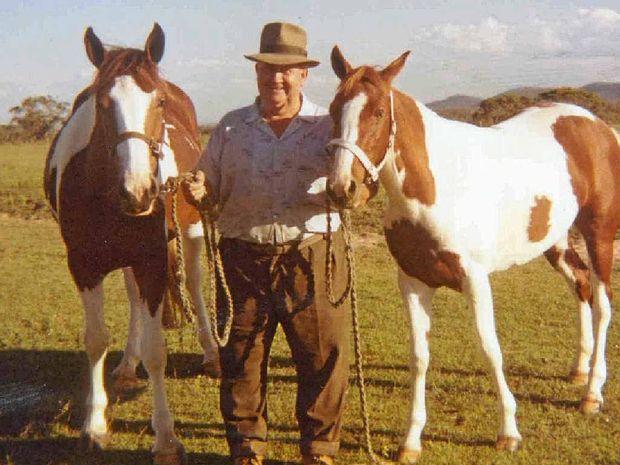 Kev Wallen had a lifelong passion for coloured horses.
