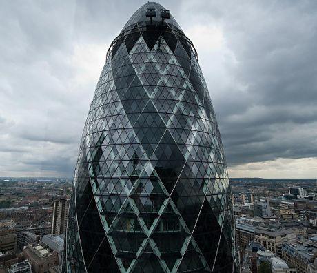 London's Swiss or 'Gherkin' Tower