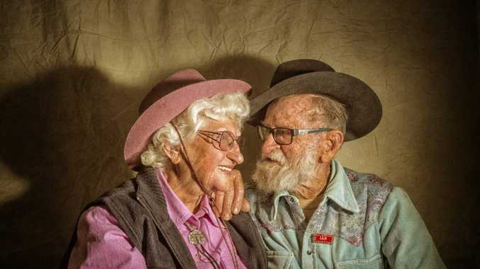 Zeta Burns and Ian Hans met at a country music festival nearly 40 years ago, and are are repeat visitors at the Grafton Fairdinkum Country Music Festival. Photo Adam Hourigan / The Daily Examiner