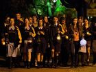 Lanterns burn for city's refugees, asylum seekers