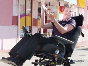 Fundraiser for $20,000 all-terrain wheelchair