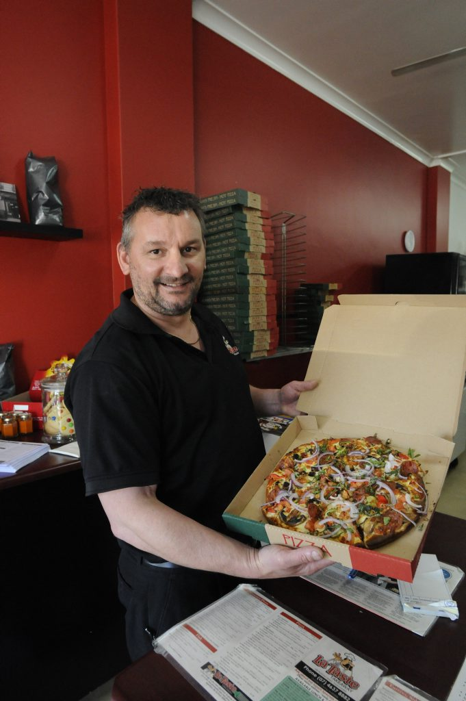 Toowoomba people love Pizza and have nominated their favourite . La Taste - Paul Worrell Photo: Bev Lacey / The Chronicle