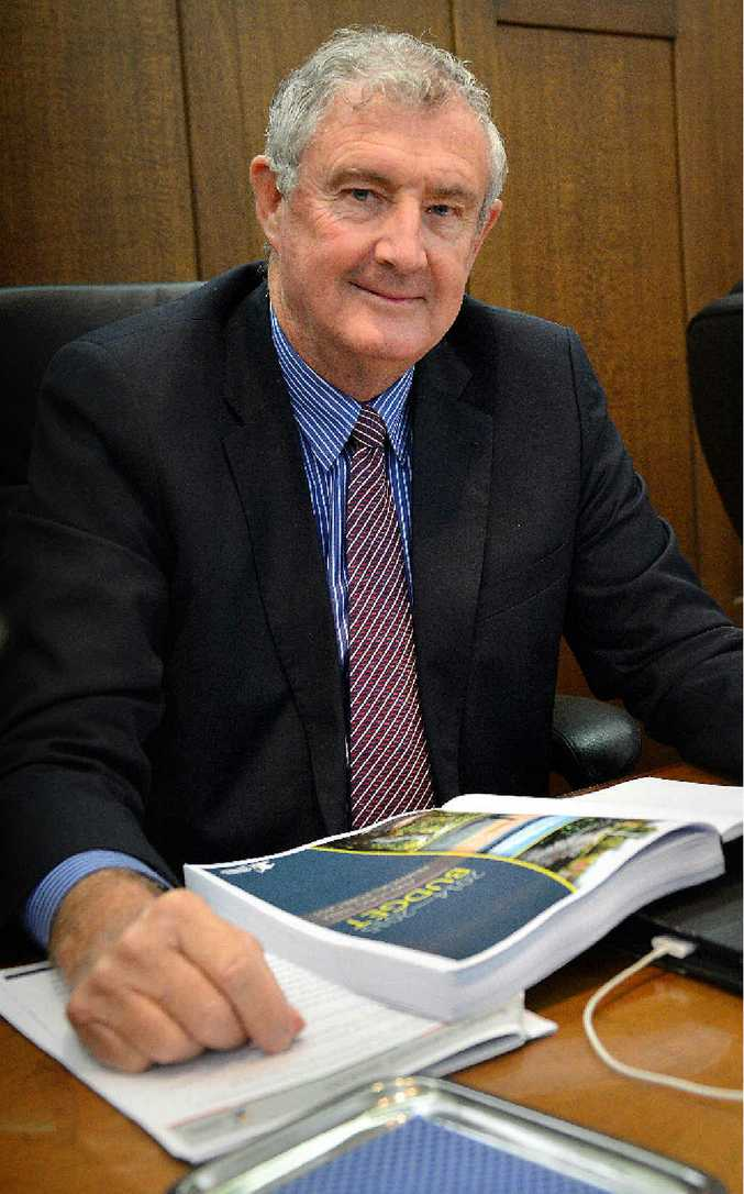 Gympie Mayor Ron Dyne will stay at his post.