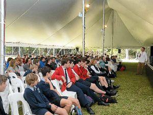 School kids get Byron Bay Writers' Festival underway