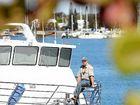 Marine park ranger Andrew Congram says he has the best job on Earth.
