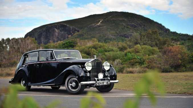 Clive Palmer's Rolls-Royce Silver Wraith.