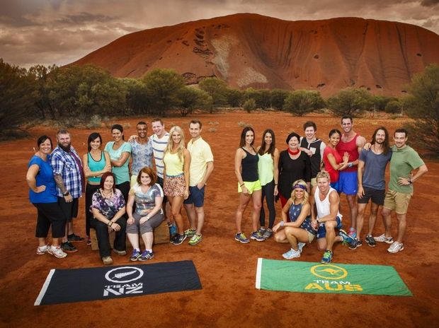 New Zealand and Australian teams competing in the 2014 series of The Amazing Race Australia.