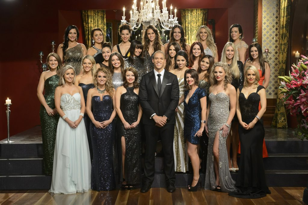 Now that the show's over, I don't think Blake is going to be turning his back on a group of women for a while.