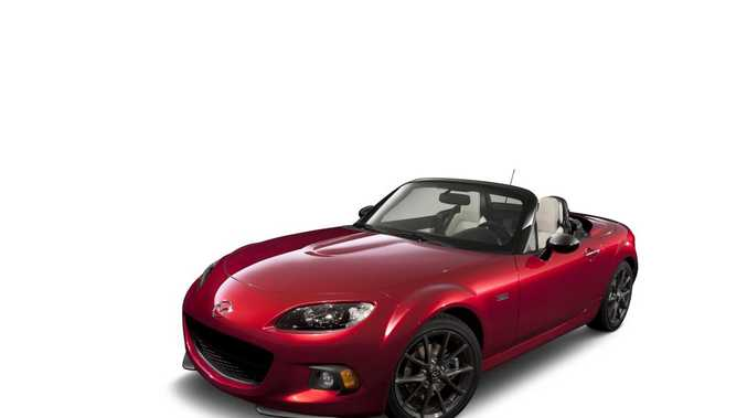 The limited edition 25th anniversary Mazda MX-5.