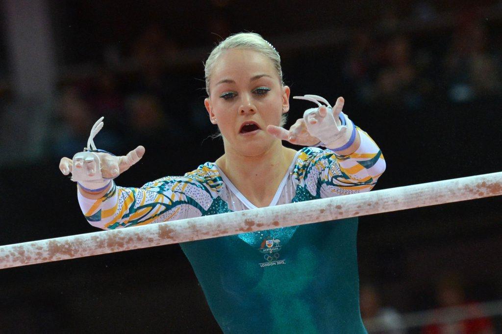 Former Moranbah gymnast Larissa Miller.