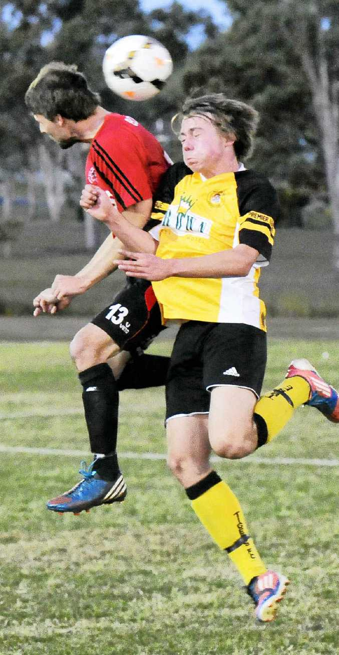 MAKING THE GRADE: Westlawn Tigers left fullback Cormac Grant has slotted in seamlessly to the rigours of NCF Premier League. Grant will line up for Westlawn against Orara Valley at Barnier Park in Junction Hill at 5pm on Saturday evening. Photo: Debrah Novak