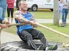 MASSIVE CHALLENGE: NSW Strongest Man winner Troy Munro is running the North Coast Massive Loser competition to motivate people to lose fat and gain muscle mass. Photo: Contributed