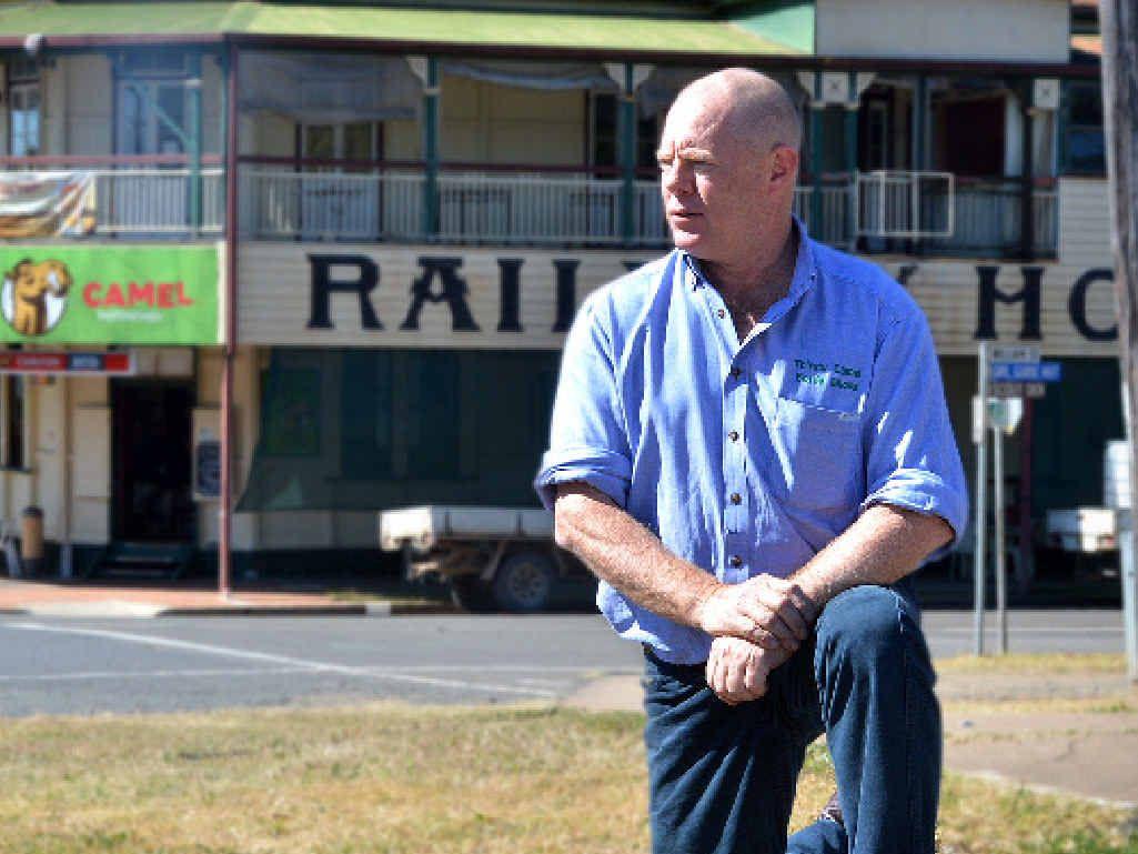 BOTTOM LINE: Symon Duggan says Imbil needs the Rattler back and the Rattler needs Imbil.