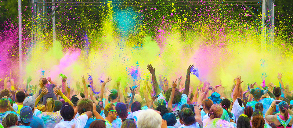 Colour Vibe is coming to Toowoomba.