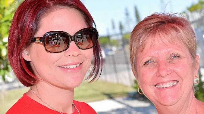 Tegan Parkinson and Mary-Ellen Searles.
