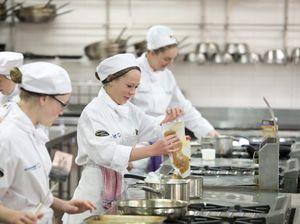 Junior chefs compete