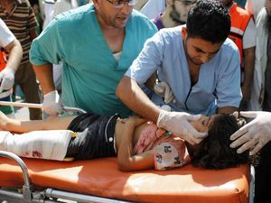 Israel is shelling hospitals and shooting at ambulances