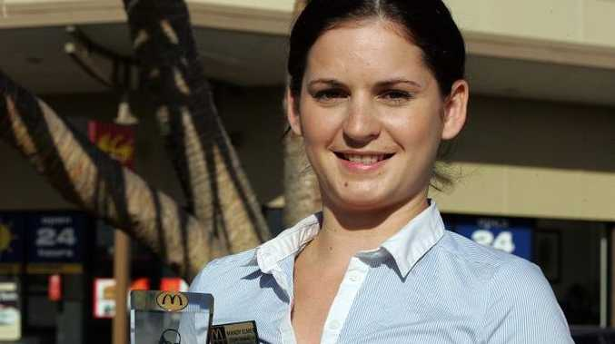 Mandy Elmer is one of only 10 McDonald's managers in Australia to receive the Ray Kroc Award.